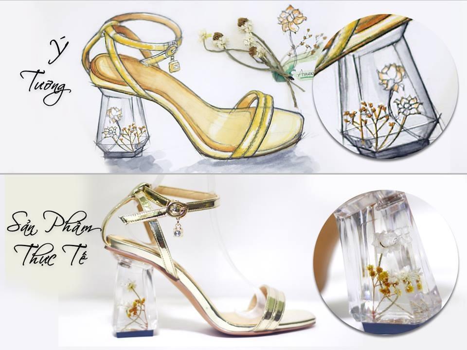 Giày gót hoa - GAFA