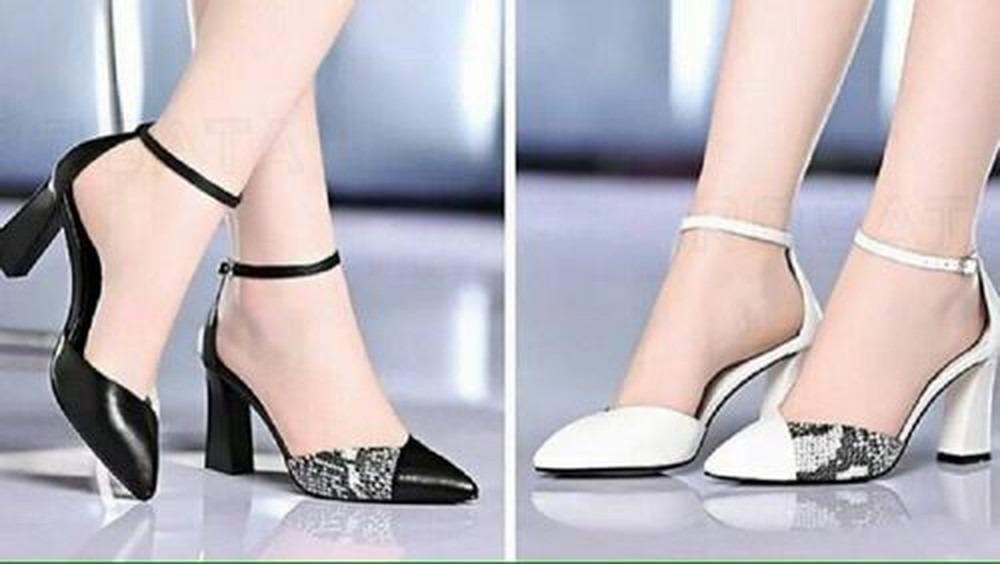 Giày cao gót quai hậu