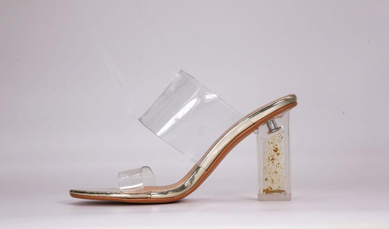 Giày cao gót quai trong - Gafa